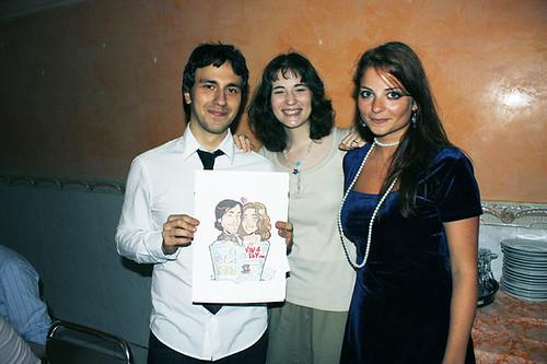 Gli sposi, io e il disegno