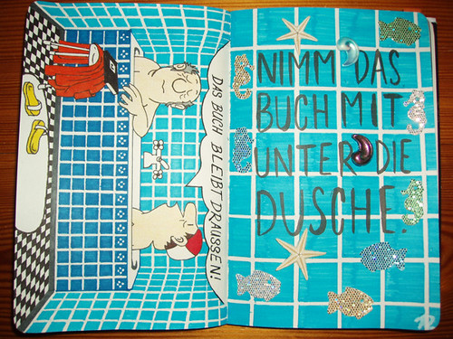 Wreck This Journal: Bring This Book In The Shower With You.