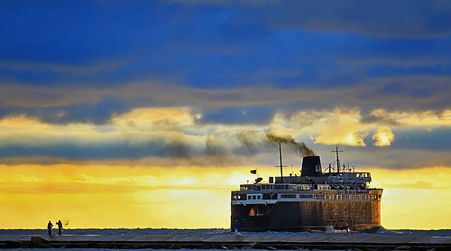 S.S. Badger - Ludington Mi.