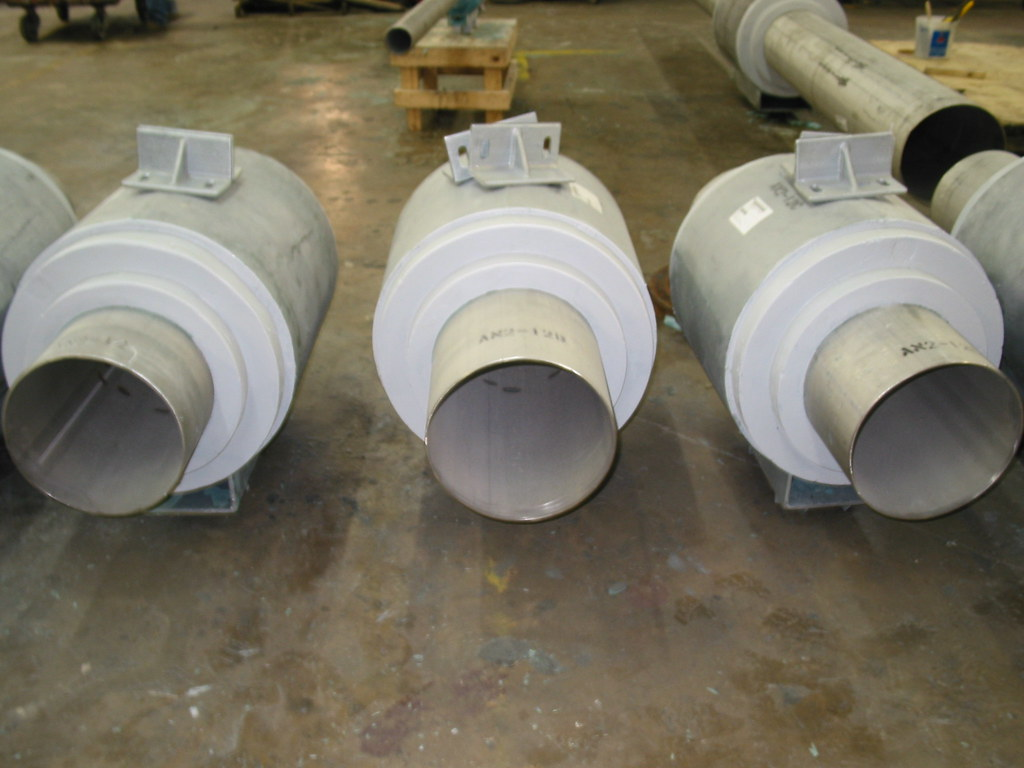 Cold Shoe Pre-Insulated Anchors for an LNG Plant
