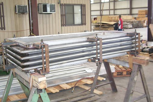 "28""x66"" Rectangular Expansion Joint For Chemical Plant In South Carolina"