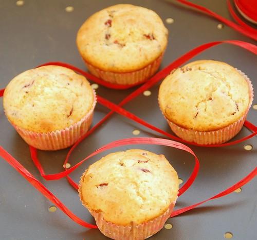 cranberries muffins
