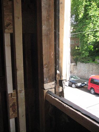 dodgy window timber