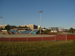 UNBSJ Stadium & Medical Centre Construction (JHikka) Tags: new canada saint john construction education university brunswick health improvement expansion unbsj nbcc