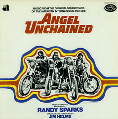 Angel Unchained (Jim Ed Blanchard) Tags: graphicdesign album exploitation lp record motorcycle biker soundtrack aip hellsangels aldoray tynedaly donstroud lukeaskew jimhelms randysparks angelunchained