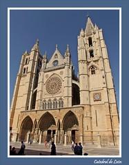 PULCHRA LEONINA (Sigurd66) Tags: españa spain arch cathedral gothic catedral cathédrale leon león espagne arco cattedrale gotico claustro castillayleon catedraldeleon leóncathedral cattedraledileon