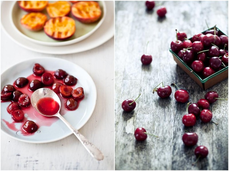 Cherries - Cut Peaches