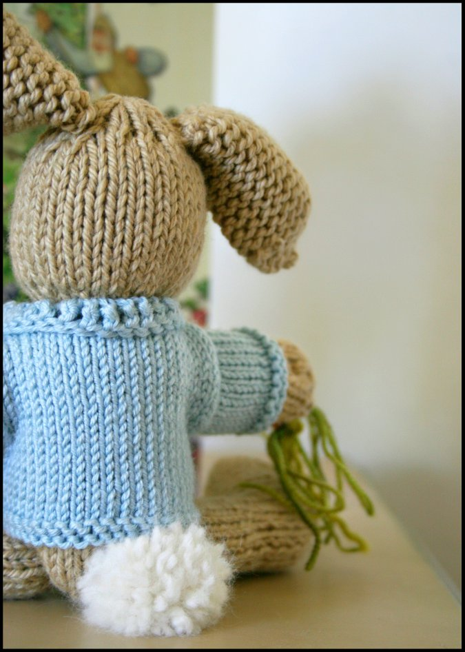 Knitting Pattern For Peter Rabbit Jumper : Never Not Knitting: Peter Rabbit