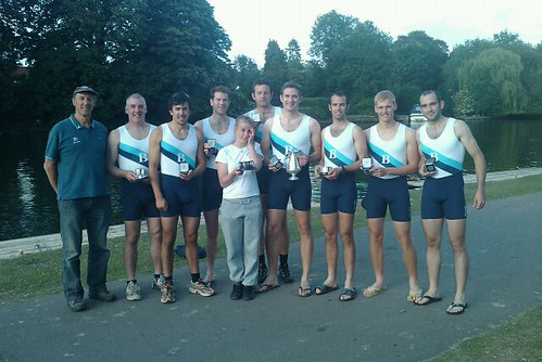 Senior Men win at Reading Reagatta 2010