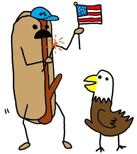 hot dog eagle america