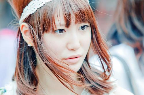 Japanese girl portrait (Harajuku, Tokyo) by marcusuke
