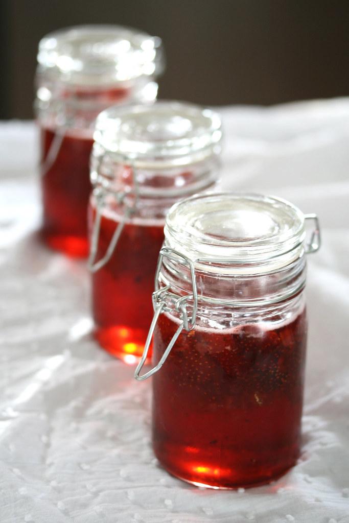 Strawberry Lemon-Thyme Preserves