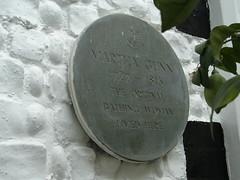 Photo of Martha Gunn stone plaque