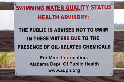 Swimming Water Quality Status Health Advisory