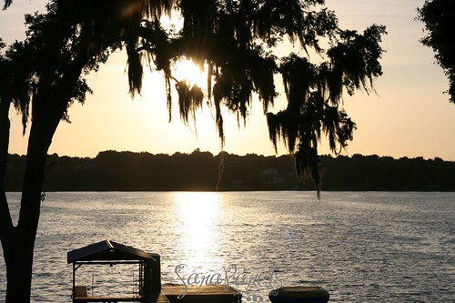 Sunset on Lake Florence in Montverde, FL