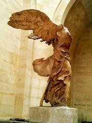 Winged Victory (radiowood) Tags: france louvre nike greece samothrace