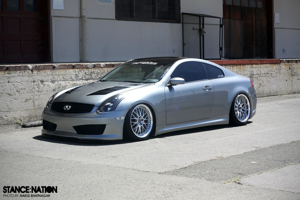 Workers On Wheels >> Low & Wide G35! | StanceNation™ // Form > Function