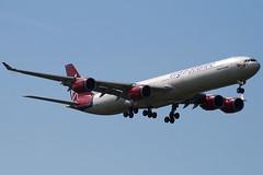 G-VOGE - 416 - Virgin Atlantic Airways - Airbus A340-642 - 100617 - Heathrow - Steven Gray - IMG_5379