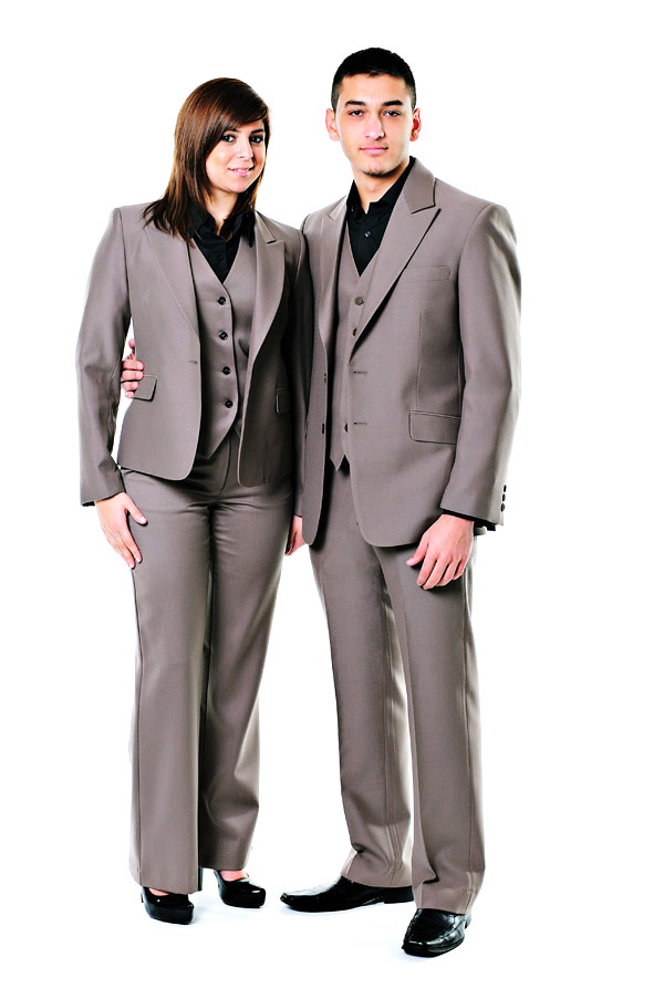 Corporate Fashion, Jackets - Studio White Background