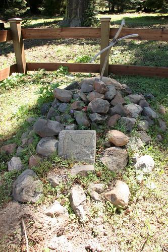 White Woman's Grave - Tamarack Springs - Taneum