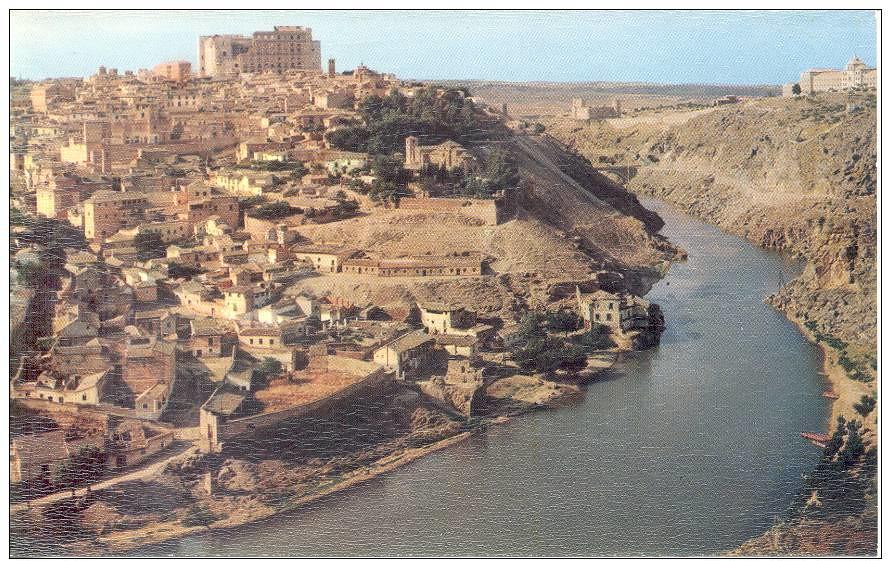 Vista general de Toledo años 50