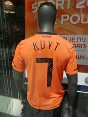 Orange nr. 7 #oranje #kuyt (Jacco van Giessen) Tags: orange holland netherlands dutch team support soccer nederland x supporter worldcup mania voetbal oranje 2010 elftal gekte 11tal oranjeset