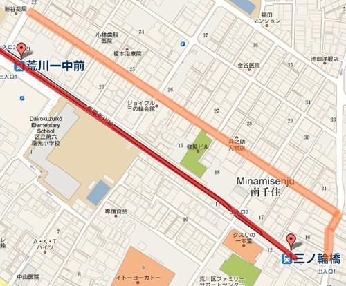 JOYFUL三之輪商店街