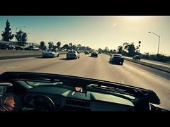 DSC_0893c (UbiMaXx) Tags: camera travel usa car speed fun la losangeles los interesting nikon highway angle angeles action fast e3 mustang maxx 2010 d700 ubimaxx