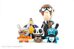 Toys (Kyle Tomita) Tags: toy vinyl kidrobot lighttent crazy88 kingken lightshed monkeyassassin