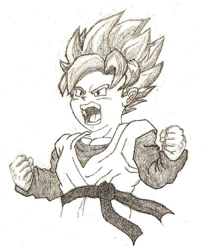 Dragon Ball Z Super Saiyan Goten. super saiyan goten from dragon