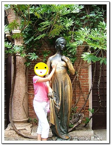 茱麗葉雕像