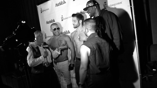 Austin Wilde, Diesel Washington, & Tommy Defendi on the Hustlaball Red Carpet