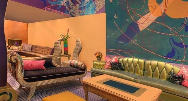 Современный интерьер отеля Трианон в Сан-Франциско