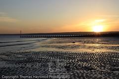 EPS-3744 [Original Resolution] (thaywoodphoto) Tags: uk greatbritain morning sea beach water sunrise dawn coast scotland sand edinburgh europe unitedkingdom gb portobello groyne
