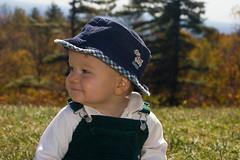 Boy of the mountains (Brian Leon of Ottawa) Tags: family autumn portrait patrick blueridgeparkway faceofportraits