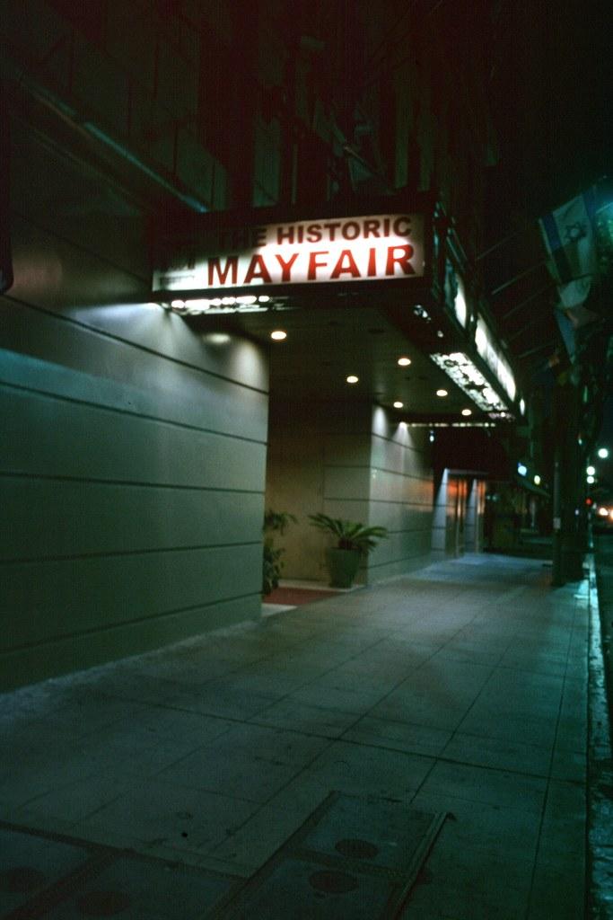 Historic Mayfair Hotel, L.A.