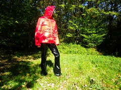 IMGP0168 (Karhu1) Tags: shiny tights jacket nylon snowsuit lack hooded skipants snowpants skisuit