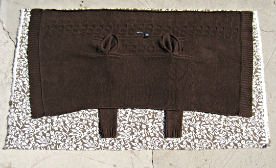 Asymmetrical Faux Fur Vest DIY - 1