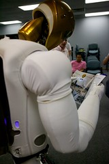 Robonaut - Self conscious robot?