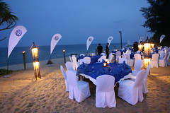 Volkswagen Media Drive - Evening dinner set up
