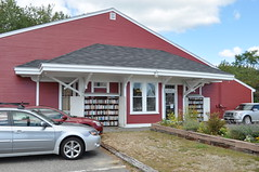 The Elms Depot (photoman82) Tags: railroad building me station shop store big maine newengland wells bookstore trainstation bm depot preserved addition theelms bostonandmaine