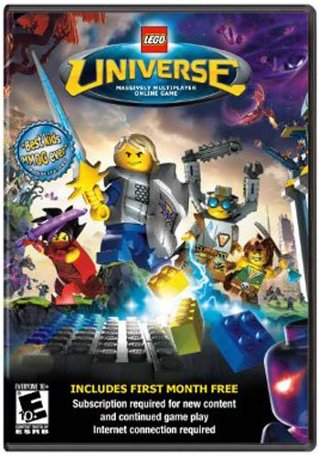 Lego Universe, Massively Multiplayer Online Game,