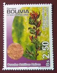 "stamp ""Chenopodium Pallidicaule"" (Bolivia 2011) (Sasha India) Tags: bolivia stamps philately sellos briefmarken"