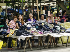 Happy Smiling People (Beegee49) Tags: street market happy ladies smiling laughing okay silay city philippines