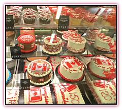 Canada Day Birthday Cakes (bigbrowneyez) Tags: cakes desserts yummy sweets delightful candy delicious dolci icing birthday 150 tasty bakery loblaws creative artful canada ottawa festivities party fancy pretty festa lovely decorations decorative festive ce celebration celebrate happy joyful
