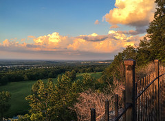 The World's Beauty (jade2k) Tags: sunset newyork upstate fence view