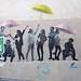 Pasted paper by Le Mouvement [Paris 3e]