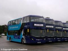 Our Big Moment (Cymru Coastliner) Tags: arrivabuseswales adlenviro400city 1000 cx17bya 1001 cx17byb 1002 cx17byc 1003 cx17byd bus wrexham wrexhamdepot northwales sapphire