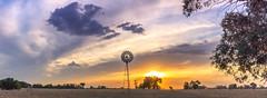 windmill4 (Maddyh100) Tags: windmill country aus australia countryside sun sunset bush victoria gumtree vce