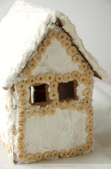 gingerbread house back
